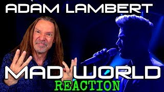Vocal Coach Reacts To Adam Lambert - Mad World - American Idol - Ken Tamplin