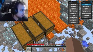 I caught this Streamer CHEATING on my Minecraft server...