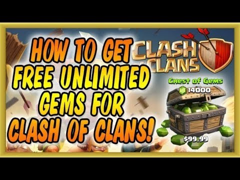 [No Root] Clash Of Clans Working Unlimited  Gems Hack |  Working September 2017