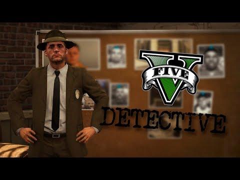 GTA V DETECTIVE MOD 1  UN CASO PARA PROFESIONALES !  ElChurches