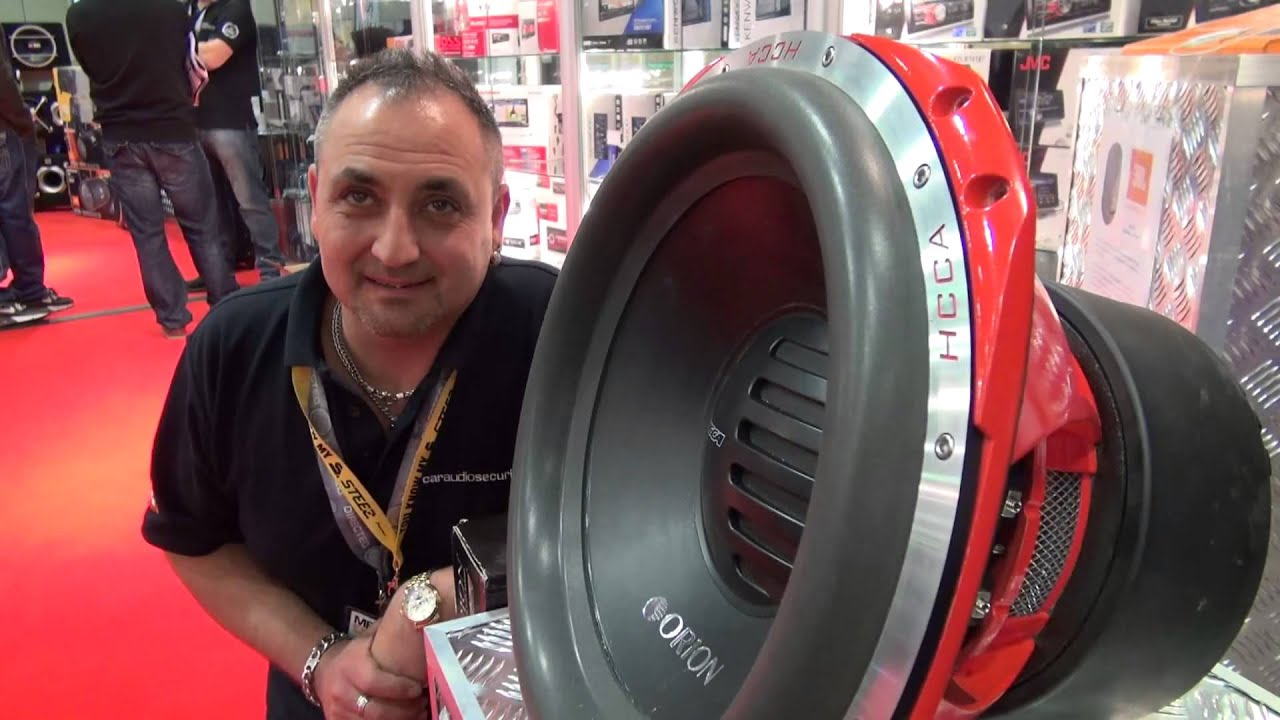 NEW Orion HCCA Woofer 3,600W RMS Review - YouTube