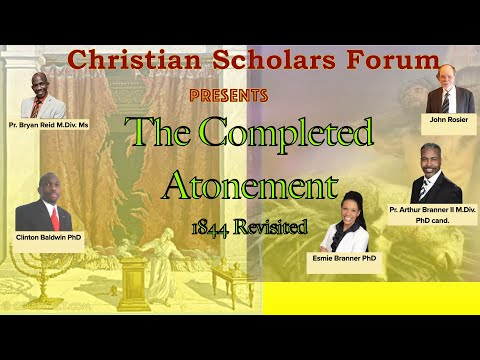 Pastor Bryan Reid The Completed Atonement