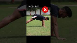 Avoid This Common PUSHUP Mistake ⁉️⁉️