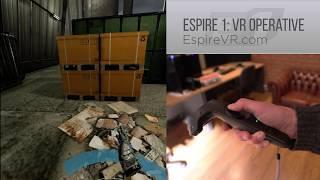 VR stealth game - Espire 1 gameplay footage - dev diary 03