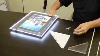 видео купить световой короб