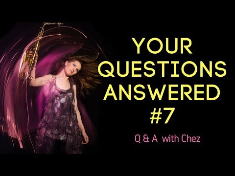 Part 7. Your Questions Answered. Ask me anything. 🎶  saxophone lessons / tutorials