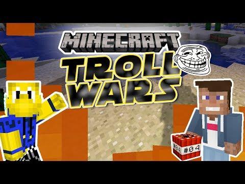 LOGO TROLLT MICH! - Verbünden mit Koopa?   Minecraft TROLL WARS #04   Dner