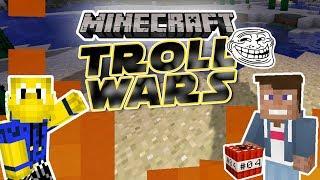 LOGO TROLLT MICH! - Verbünden mit Koopa? | Minecraft TROLL WARS #04 | Dner