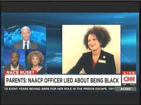 Rachel Dolezal segment on AC360 June 12 2015 (Marc Lamont Hill, Michaela Angela Davis)