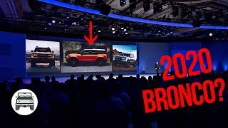 Real or Fake? 2020 Ford Bronco Leaked Picture