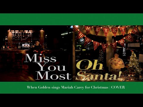 When Golden sings Mariah Carey for Christmas [Cover]