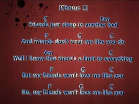 Ed Sheeran Friends Chords And Lyrics Youtube