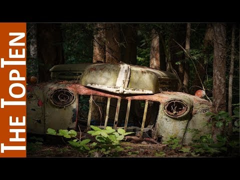 The Top Ten Fascinating Vehicle Graveyards Around the World
