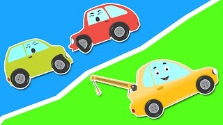 Broom And The Accident | Magic Car Episode 2 | Vehicle Adventures