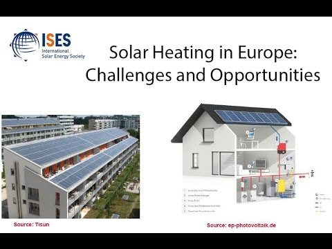 Solar Heating in Europe: Challenges and Opportunities
