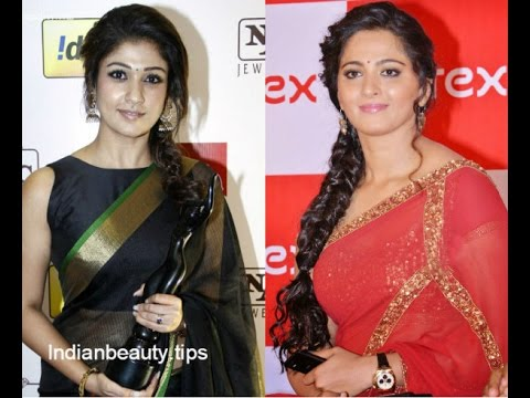 Best Indian Hairstyles With Sarees YouTube