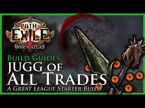 Path of Exile [3.5 - Updated]: JUGG of All Trades - Build Guide - League Starter