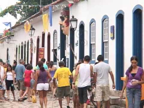 Jornal da Orla Turismo - Paraty Rio de Janeiro (Parte 1).wmv