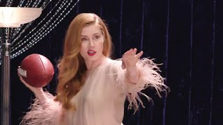 Amy Adams Teaches You How to Throw a Football (Sort Of) | Secret Talent Theatre | Vanity Fair