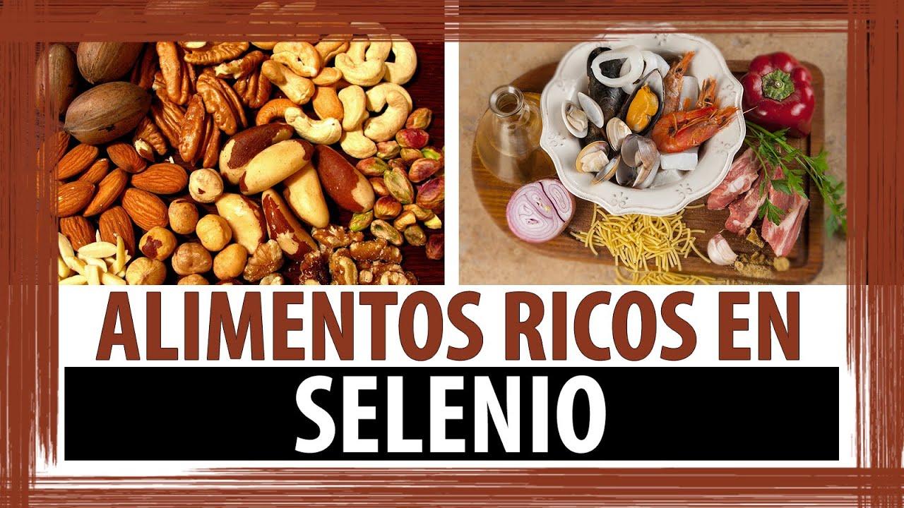 Alimentos ricos en selenio propiedades del selenio youtube - Alimentos ricos en magnesio y zinc ...