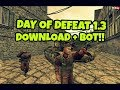 Day Of Defeat 1.3 + 30 BOTS OFFLINE (DOD_FLASH GAMEPLAY) DOWNLOAD 2018!!