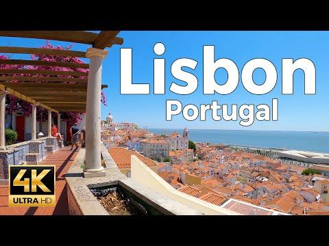 Lisbon, Portugal Walking