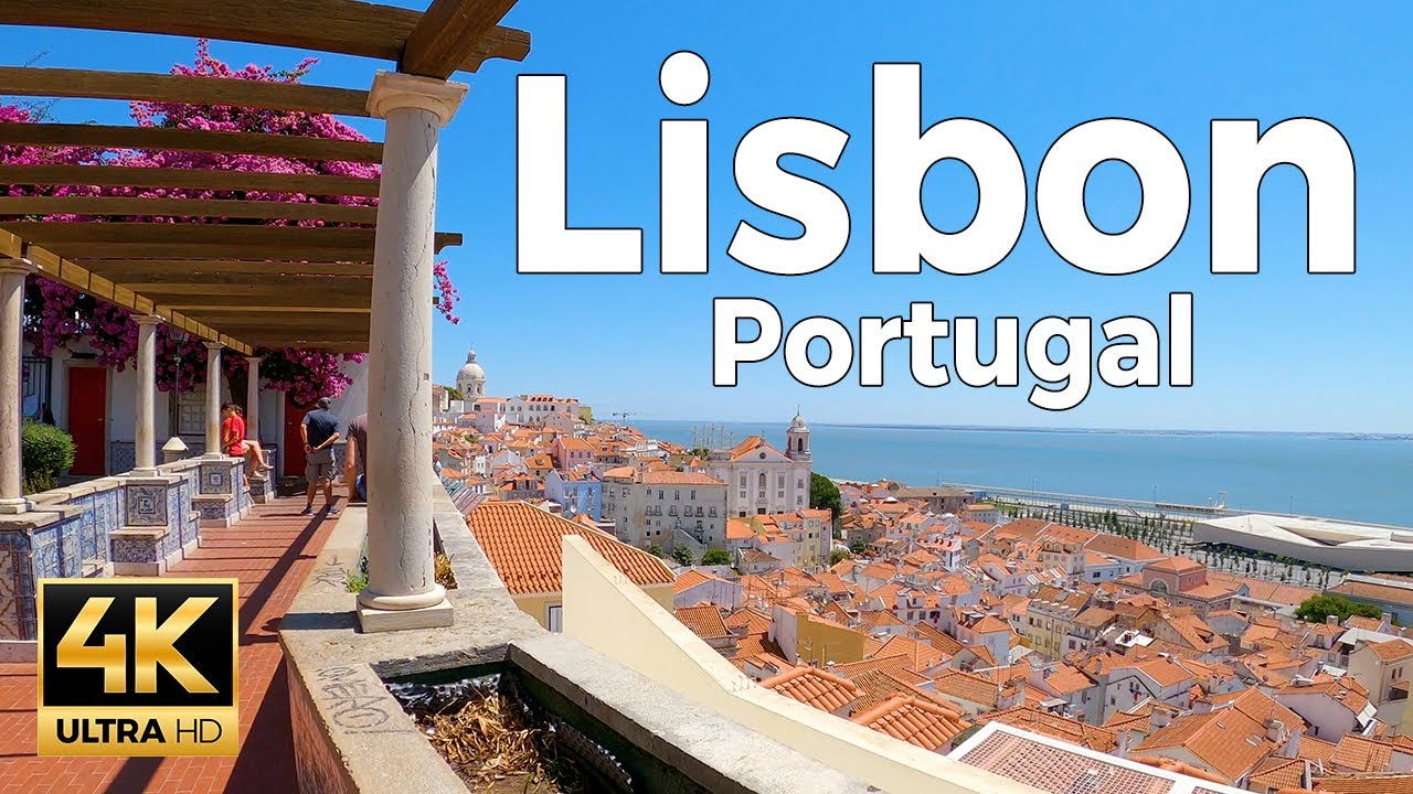 Download Lisbon, Portugal Walking Tour (4k Ultra HD 60fps) – With Captions