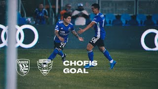 CHOFIS SCORES HIS FIRST MLS GOAL IN STYLE