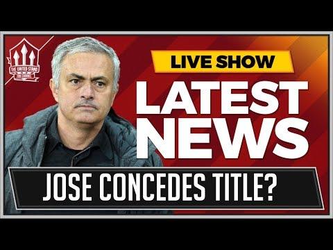 Mourinho's MAN UNITED Title Dream Is Over! MAN UTD News