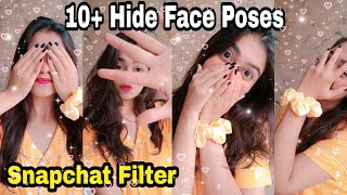 10 Hide Face Selfie Poses Cute Selfie Poses Snapchat Clicks Santoshi Megharaj