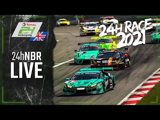 RE-LIVE 🇬🇧 ADAC TOTAL 24h-Race 2021 Nurburgring | English