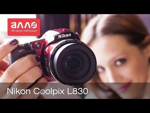 Видео-обзор фотоаппарата Nikon Coolpix L830