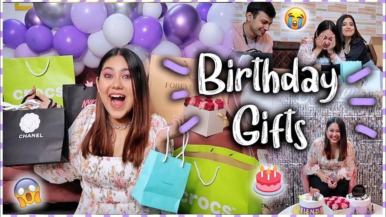 My Birthday GIFTS UNBOXING | ThatQuirkyMiss