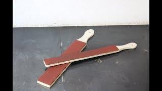lima per legno fai da te (homemade wood file)