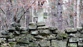 Ruiny kapliczki na wodzie - Stare Brusno - Roztocze Wschodnie