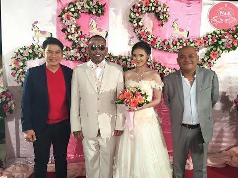 รวมภาพ เน็ตไอดอล ตลก ดาราคนดังมางานแต่งงาน เก่งลายพราง