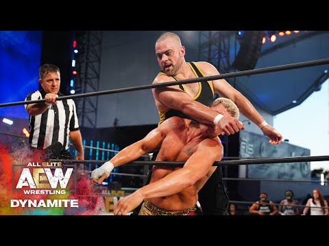 Was The TNT Champion Cody Able To Retain His Title?    AEW Dynamite, 7/22/20