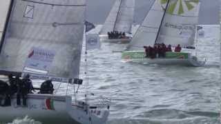 Normandy Sailing Week 2013 - Course Offshore de 230 milles