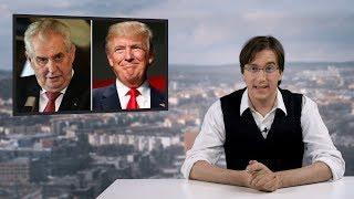 Žaloba na Zemana a Trumpa ➠ Zpravodajství Cynické svině