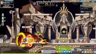 Maplestory Godly 5th Job Blaster Bossing Montage GMS