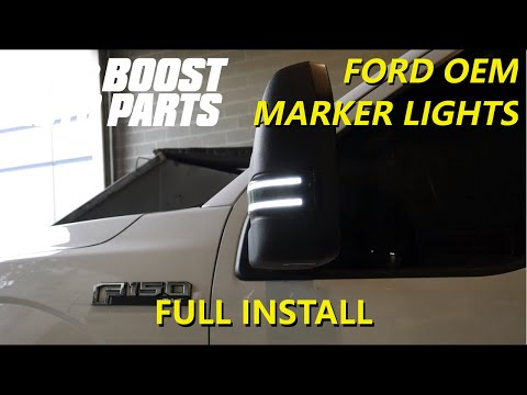 Ford OEM Tow Mirror Light Replacement - Switchback (2015+ F150) or (2017+ F250 F350 Superduty)