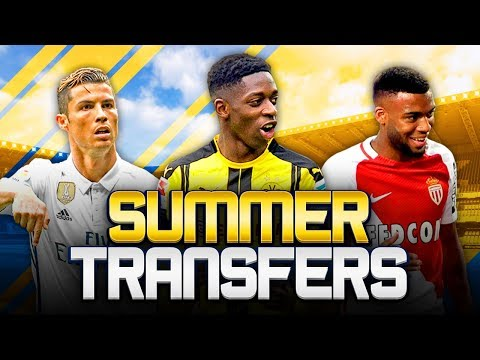 SUMMER TRANSFERS! w/ DEMBELE SET TO AGREE PERSONAL TERMS WITH BARCELONA! - FIFA 18 ULTIMATE TEAM