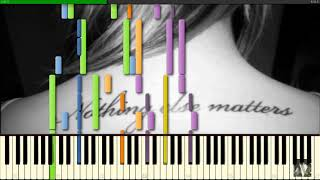 Nothing Else Matters (Metallica) - [PIANO COVER] Synthesia Arr.