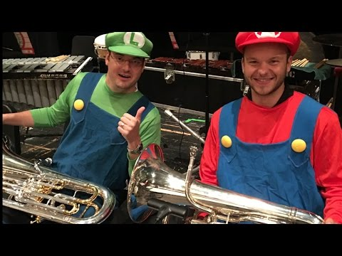 TRANSYLVANIAN LULLABY - Euphonium Super Mario, Halloween Edition