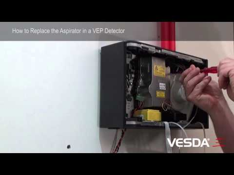 VESDA-E VEP: How to replace Aspirator