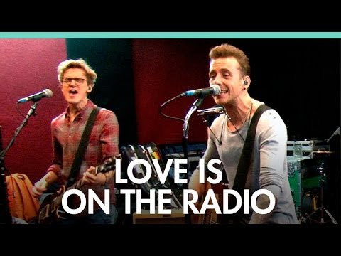 McFly 'Love Is On The Radio' live DS Session