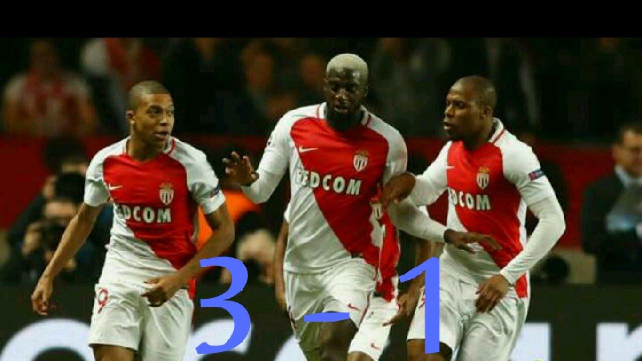 As Monaco Fc Vs Manchester City 3 1 Leg 2 Uefa Champions