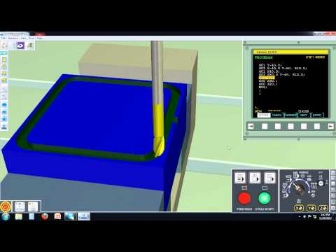 CNC Milling Virtual Machine 001
