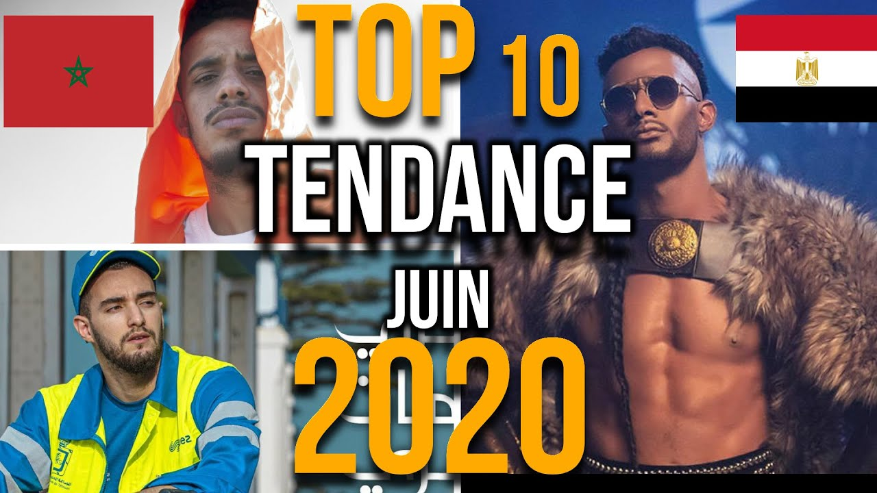 ?? #Top 10 Tendance Music de #Maroc #Egypte 2020