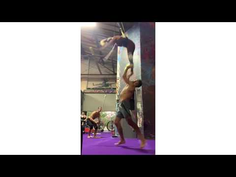 Acro training 2020 recovery / discovery / acrobatics / recreational / hand2hand / ladybase